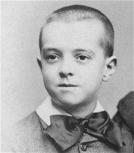 Edgar Rice Burroughs as a child