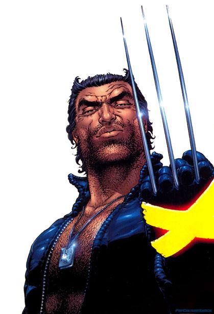 Wolverine in New X-Men.