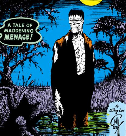 Simon's first appearance as the Zombie