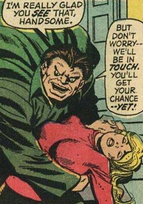 Mr. Hyde abducting Sharon Carter