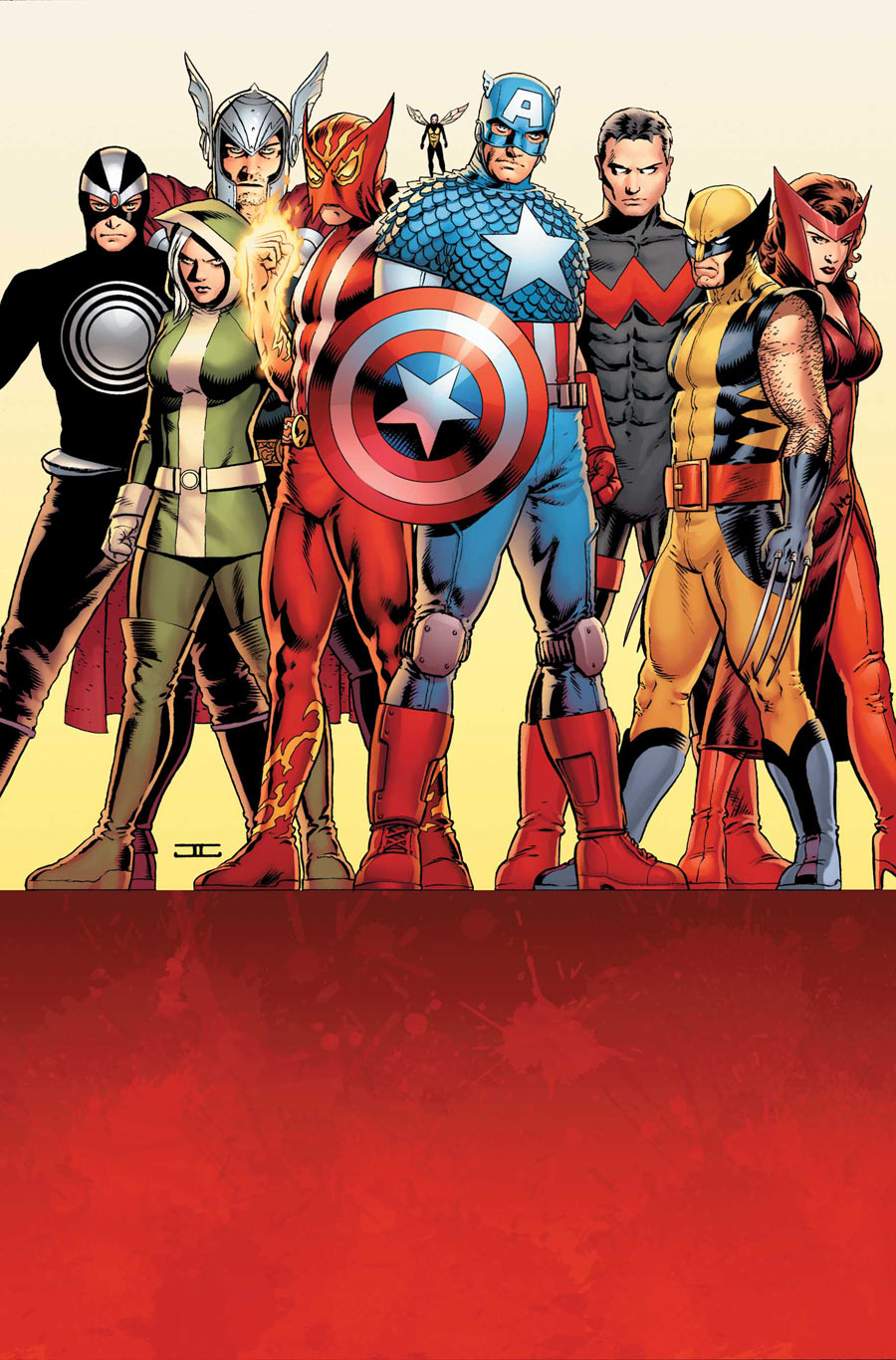 Havok with the Avengers