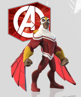 Falcon in Disney Infinity