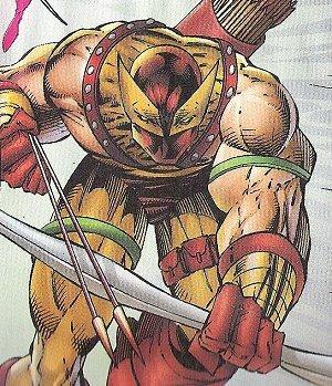 Logan as Hawkeye