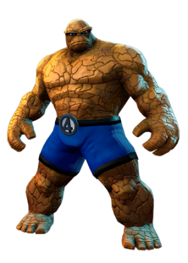 The Thing in Marvel Heroes