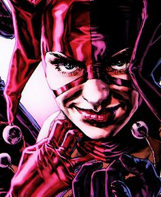 Harley in the graphic novel