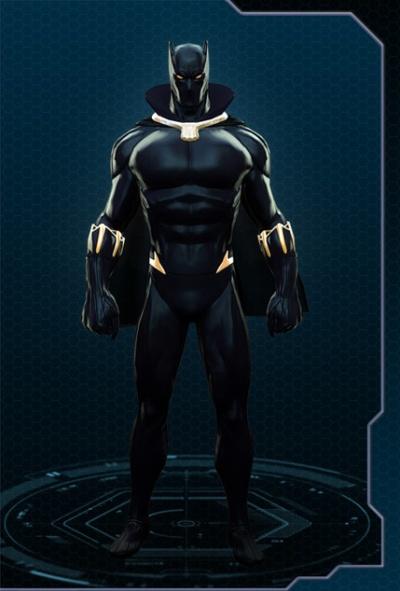 Black Panther in Marvel Heroes