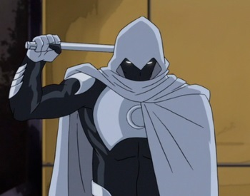 Moon Knight in Ultimate Spider-Man
