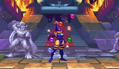 Psylocke with the Infinity Gems