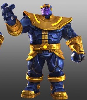 Thanos in Contest of Champions