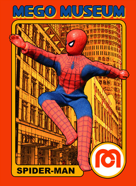 An early Spider-Man action figure from Mego (via the Mego Museum)