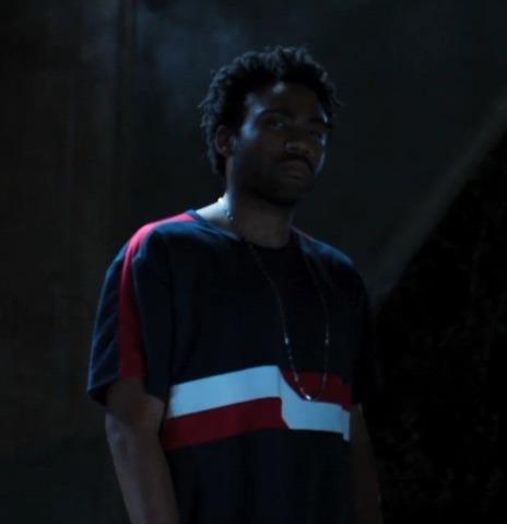 Donald Glover as Aaron Davis