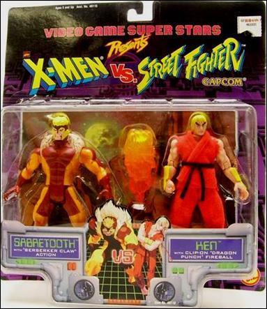 The X-Men vs. Street Fighter two-pack