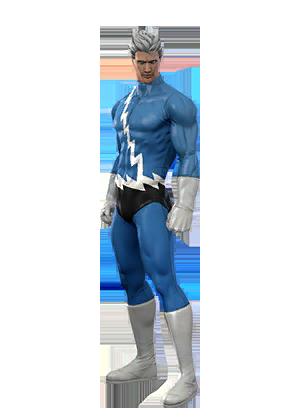 Quicksilver in Marvel Heroes