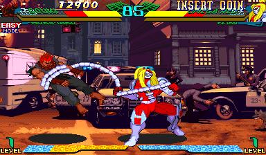 Omega Red in Marvel vs. Street Fighter