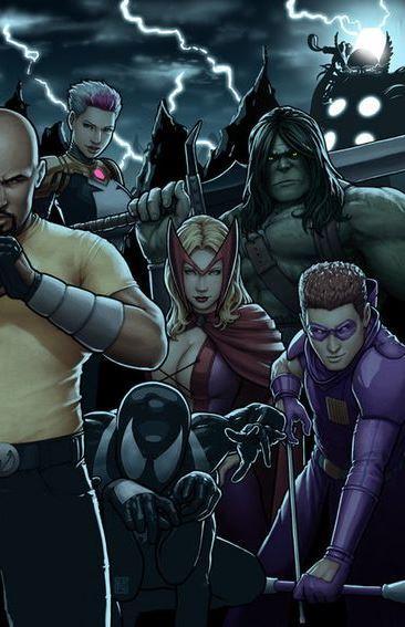 Skaar as part of the Dark Avengers