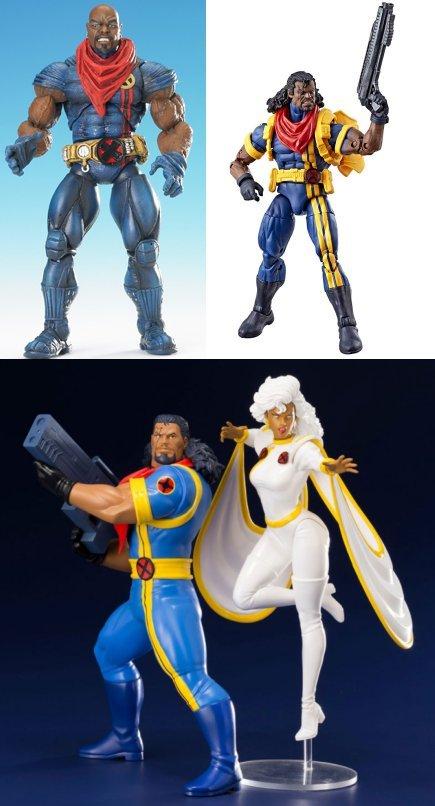 From ToyBiz, Hasbro and Kotobukiya