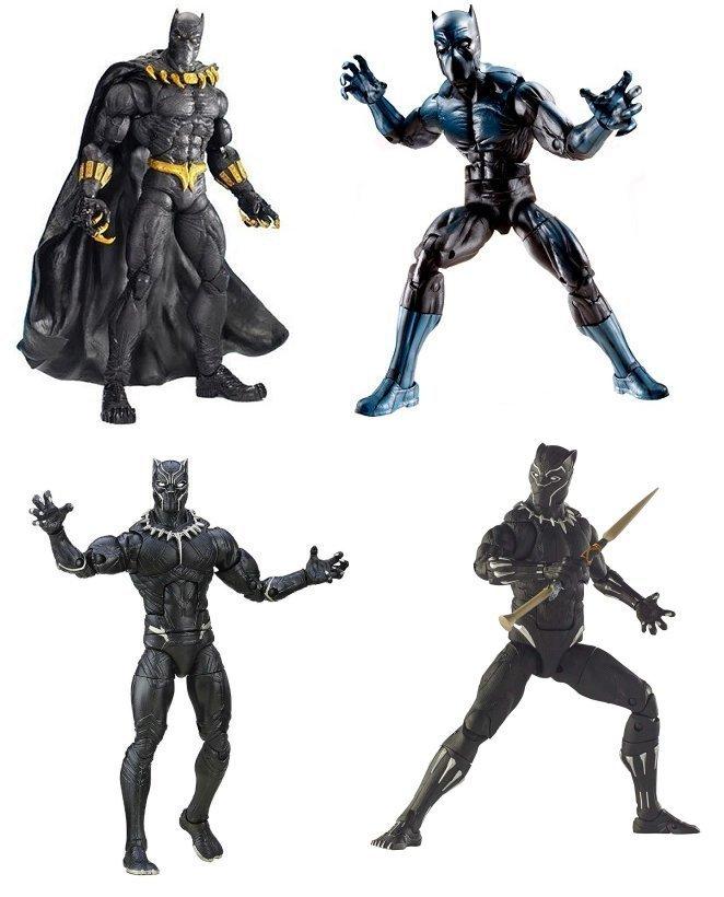 A sampling of Marvel Legends