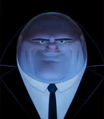 Kingpin in the animated movie