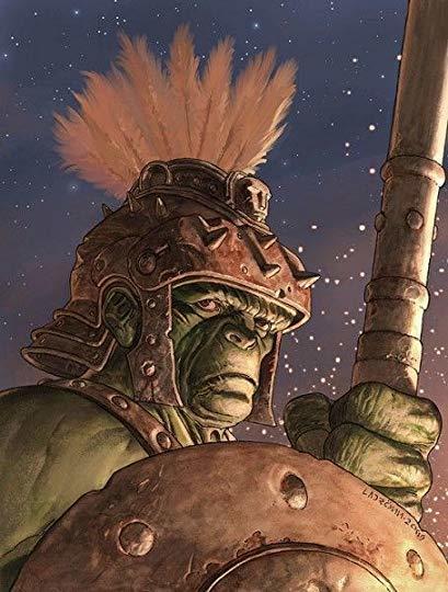 Hulk on Sakaar