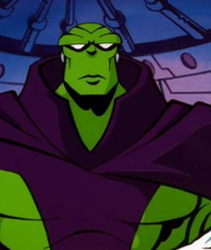Drax in the Silver Surfer cartoon