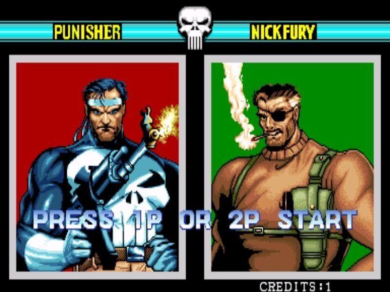 The Capcom arcade game