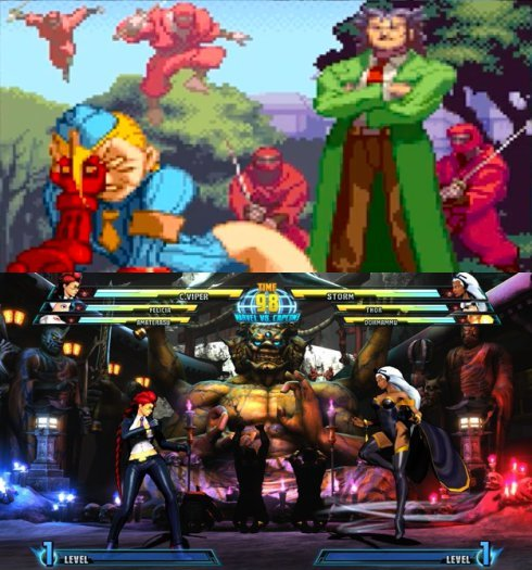 X-Men vs. Street Fighter and MVC3