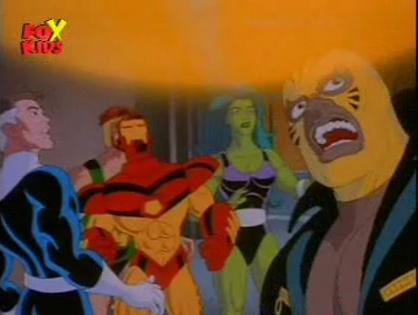 Rage in the Fantastic Four cartoon