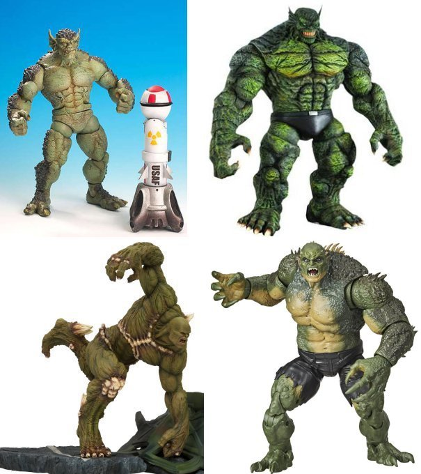 From Hulk Classics, Marvel Select, Kotobukiya and Marvel Legends