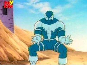 Blizzard in the Iron Man cartoon