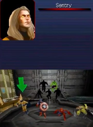 Sentry in Ultimate Alliance 2