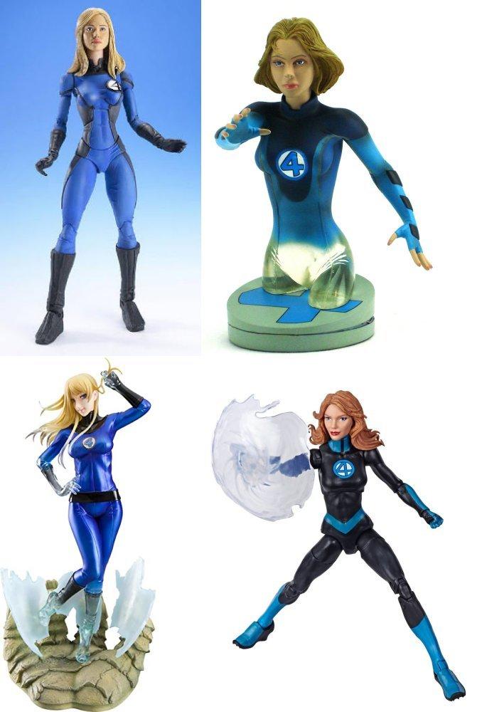 From ToyBiz, Diamond, Bishoujo and Hasbro