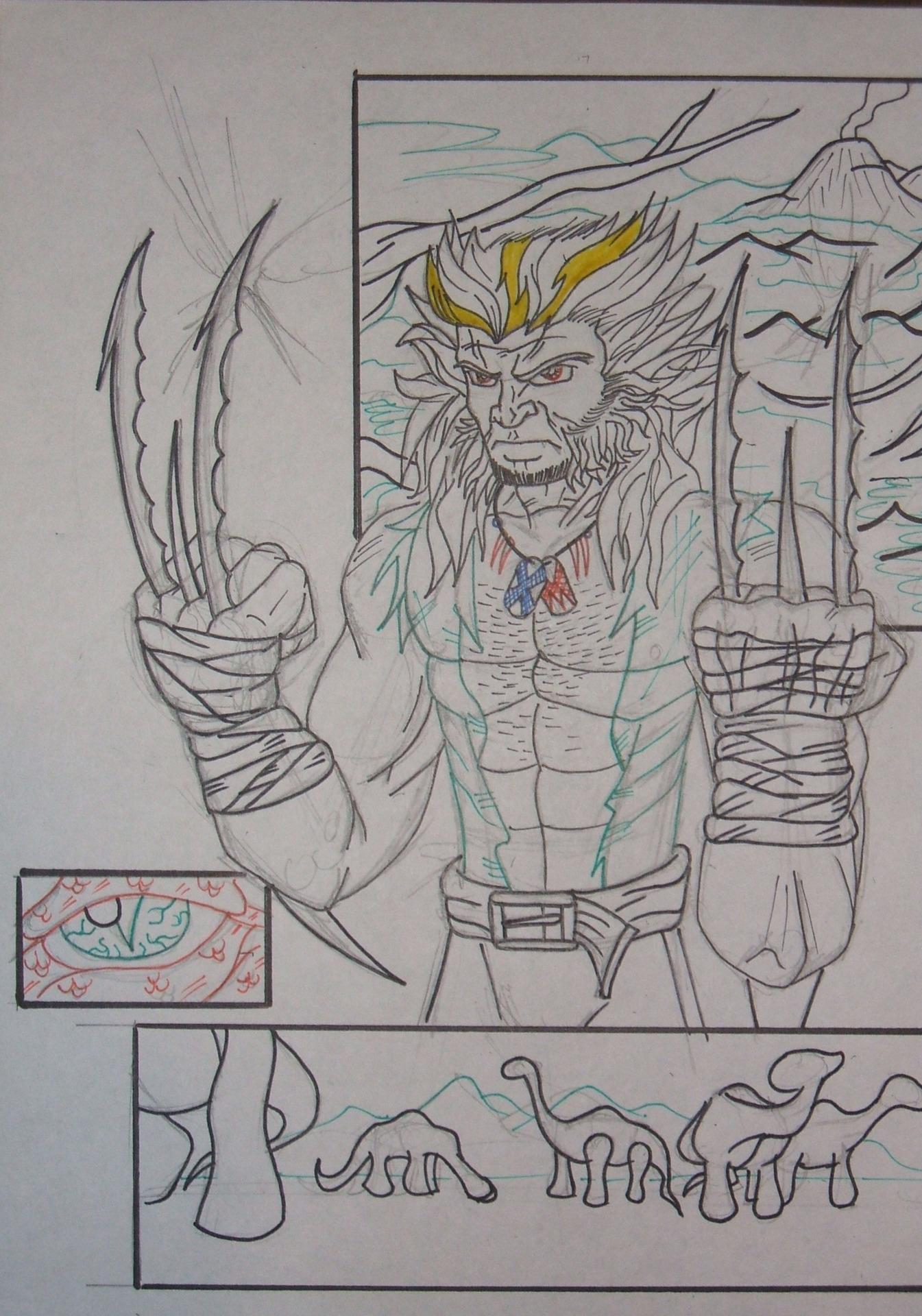 Wolvertooth (Wolverine/Sabretooth) by KEROGA