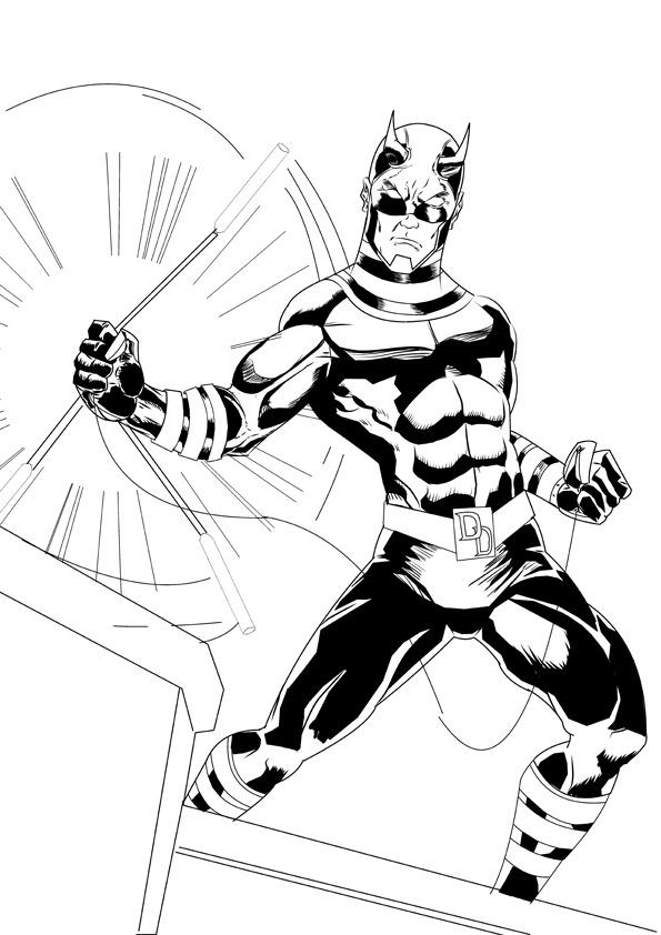 Devileye (Daredevil/Bullseye) by Mrfuzzynutz