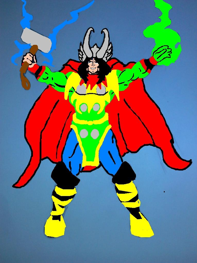 Thorki (Thor/Loki) by Russellmania77