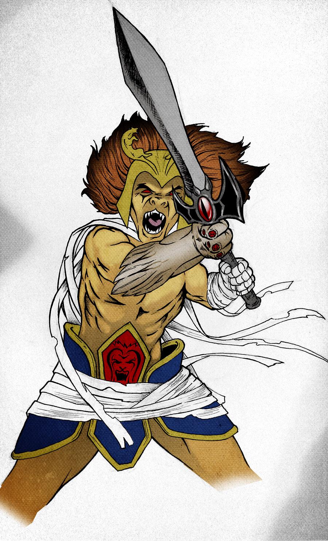 Evillion (Lion-O/Mum-Ra) by Mrnoitaull