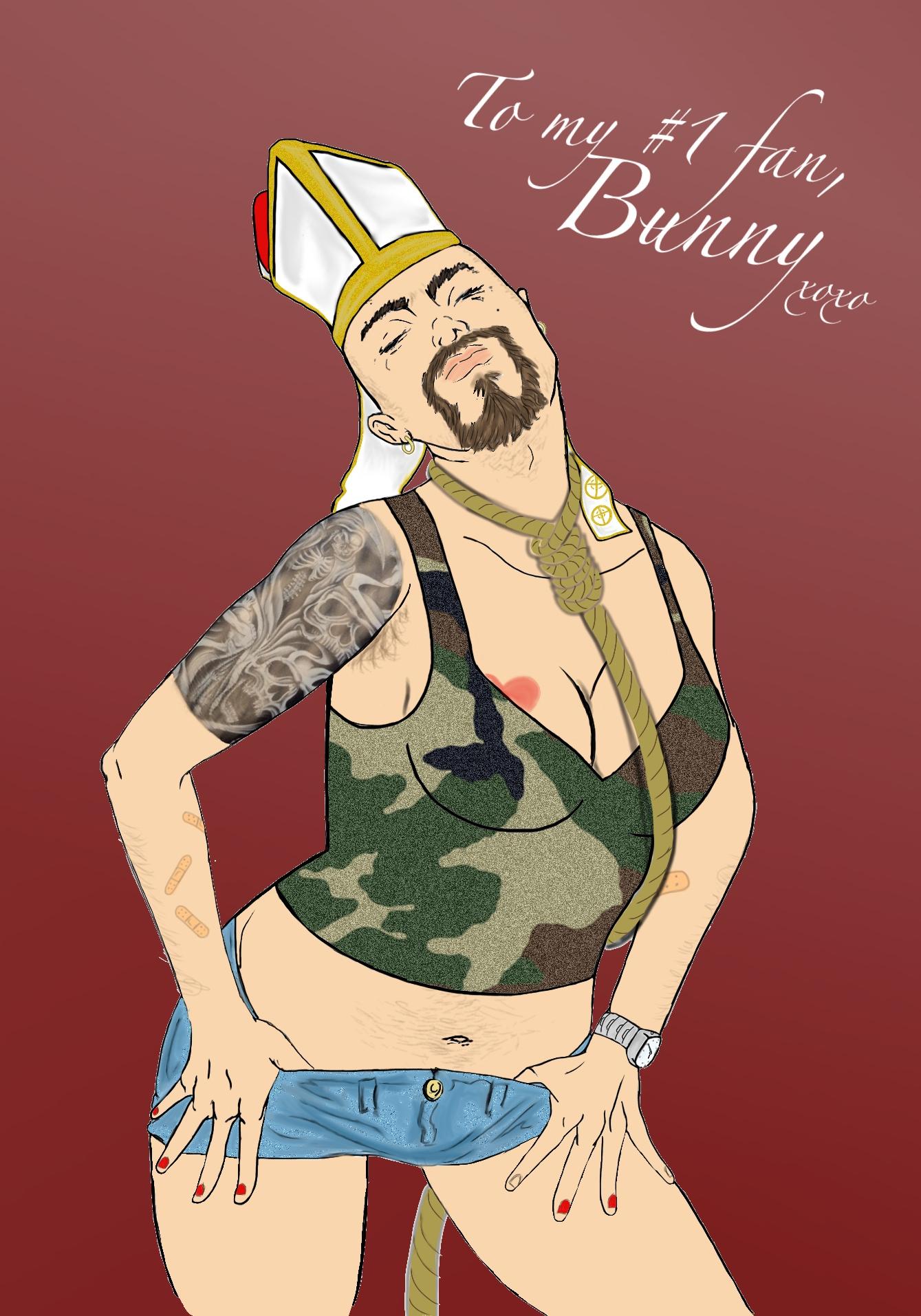 Bunny the Bearded Berserker
