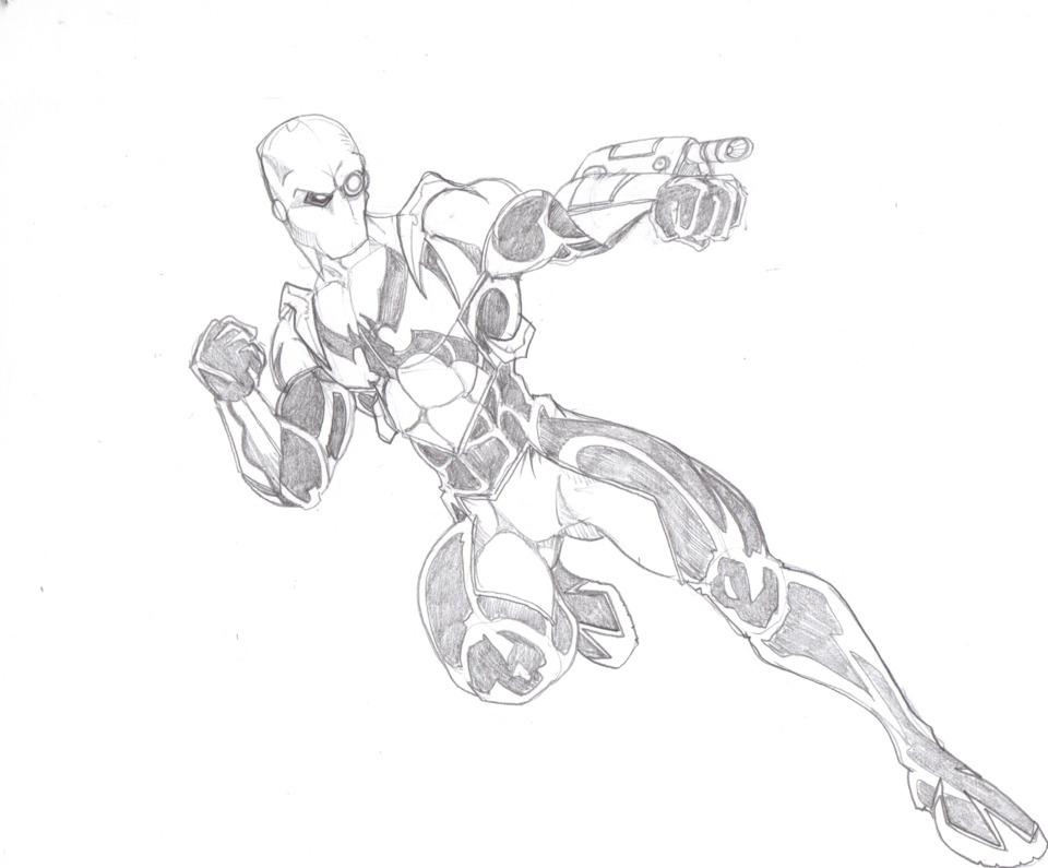 Widowmaker = Spiderman + Deadshot by @frischdvh