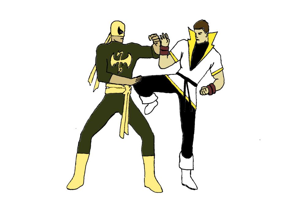 Iron Fist vs Karate Kid by @dimitridkatsis