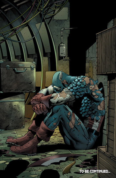 Captain America has already given up all hope for Bendis' Age of Ultron!