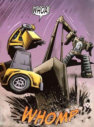 Bumblebee vs. Scavenger