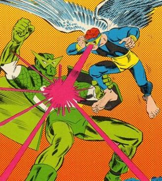 Mimic vs. the Super-Adaptoid.