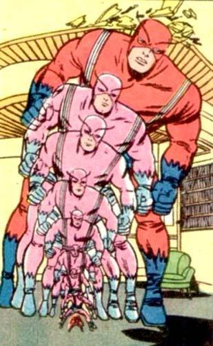 Ant-Man to Giant-Man