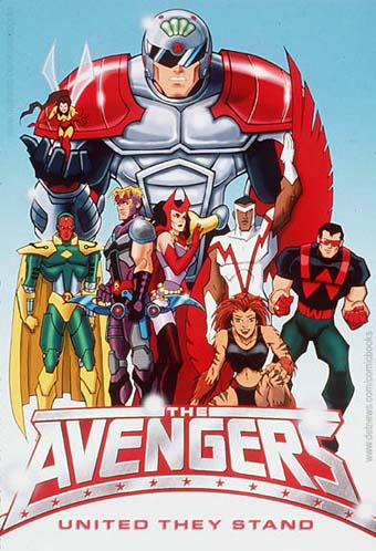 Giant-Man and his team of Avengers