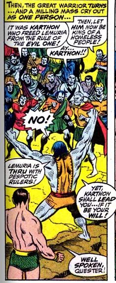 Karthon leads The Lemurians