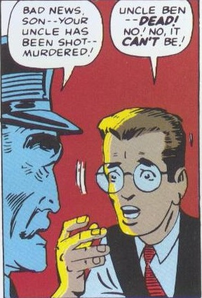 Peter finds out Uncle Ben has been murdered