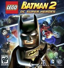 The Cover for Lego Batman 2: DC Super Heroes