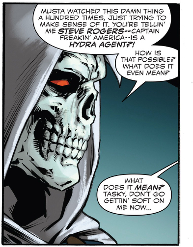 Taskmaster knows the world's most important secret.