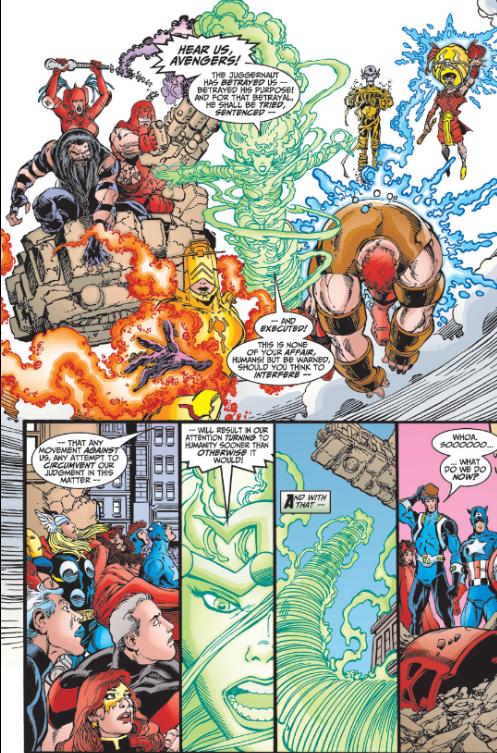 Avengers vs Exemplars