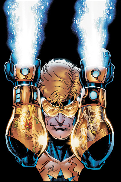 Booster Gold's gauntlets