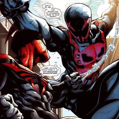 Superior Spider-Man vs Spider-Man 2099